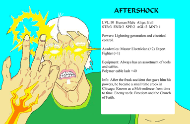 Aftershock char stats by GalaxyZento