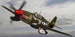 North American P51B Mustang by Emigepa