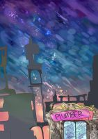 Sparkly city of shimmer awesome by BubbleDriver