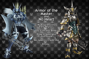 MMD Armors DL by 0-0-Alice-0-0