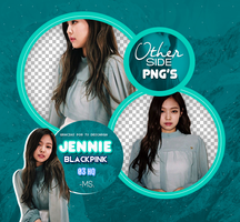 JENNIE//BLACPINK PNGPACK #1 by MoonSober