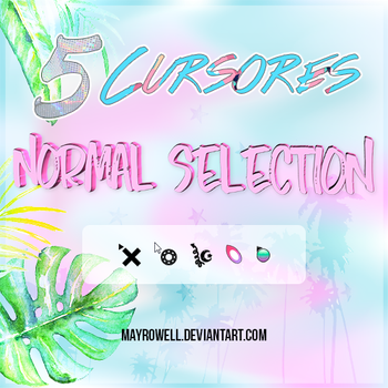 5 Cursores Normal Selection by MayRowell