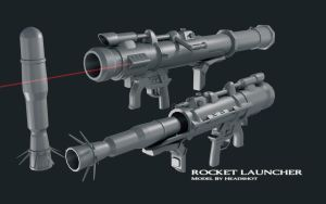 Combine Rocket Launcher by HeadshotZX