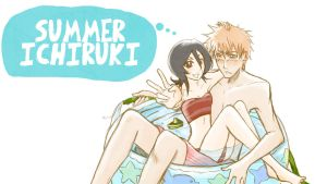 Summer Ichiruki by burnedbacon