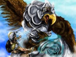 Armadyl's Eyrie ruler of sky by l3nbak