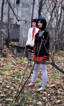 D.Gray-man Leenale and Road by maikamaiko
