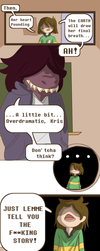 Deltarune: Child's Play Page 2 by Ari-N-Art