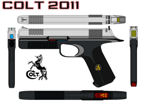 Colt 2011nickel by bagera3005