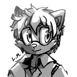 5 USD Sketch Commission for Alviers by LunarMew