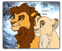Bygone king and queen of CiAr by Tayarinne