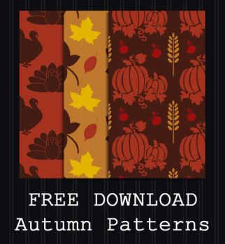 FREE DOWNLOAD - Autumn Patterns by PointyHat