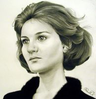 Inna Gilmore drawing by PriscillaW
