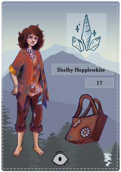 MoW: Shelby Hepplewhite by Tessay