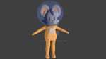I will do a 3D character for you! :D by NickoBolas
