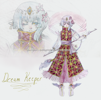 Dream Keeper Adopt [CLOSED] AUCTION - POINTS/CASH by PuriPuri-Adoptables