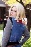 Android 18 - Red Ribbon by mintifresh