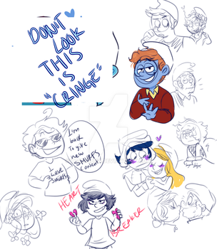 SMURFS: doodles by TairusuKU