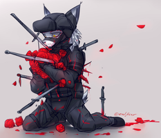 Roses and Knives by oLEEDUEOLo