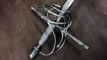 3 Rings Rapier (2) by Danelli-Armouries