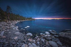 Cobalt Shores by EtherealSceneries
