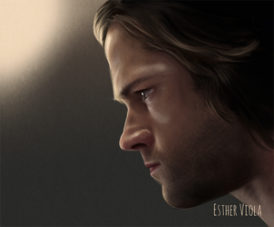 Sam Winchester by Esther-Viola