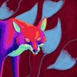 Fox In Bright Colours by femalefred