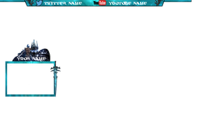 World of warcraft lich king themed overlay by KaffeMLG