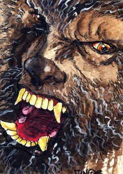 The Wolfman by Jerantino