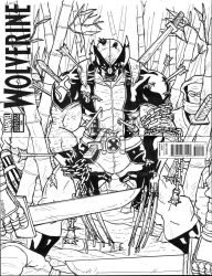Wolverine: The Calm Before the Storm sketch cover by Marvin000