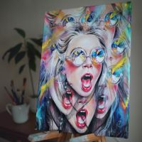 PERCEPTION print by TanyaShatseva