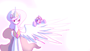 She was always obsessed with wings... by DarkFlame75