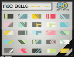 ModBelle Folder Icons by kittenbella