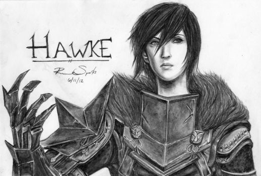 Female Hawke by Refia-Chan