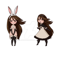 Bravely Default: Agnes stickers (dropped) by Harusokuze