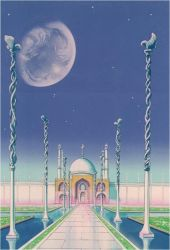 Moon Kingdom Castle - Front View (1992 Anime) by Moon-Shadow-1985