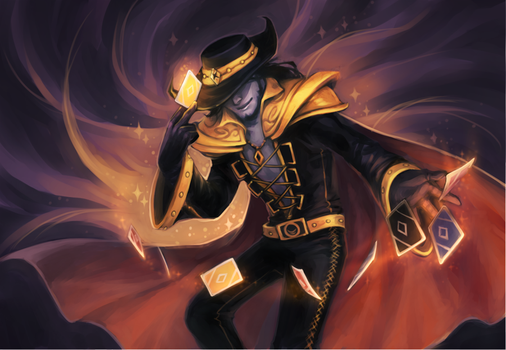 LoL - twisted fate by justduet