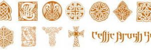 Celtic PS Brushes by khallandra-stock