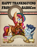 Happy Thanksgiving from BABSCon by SouthParkTaoist