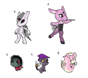 VooChu's Adopts: 3 by Chaos55t