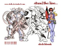 Stand the line... by stalk