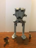 Lego Star Wars AT-ST front  by Talaeladar