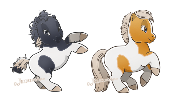 Ponies for NexipArt by Jullelin