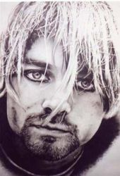 kurt cobain by charcoalking77