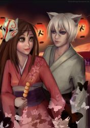 Come on, Tomoe! by thirteenthangel