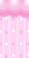 F2U Custom Box BG: Polka Dot Pink by cakebutton