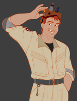 WIP - Real Ghostbusters Ray by Lexipants