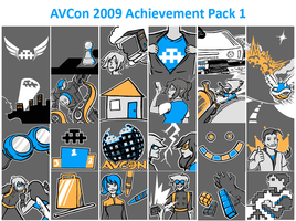 AVCon Achievements 2009 by Alecat