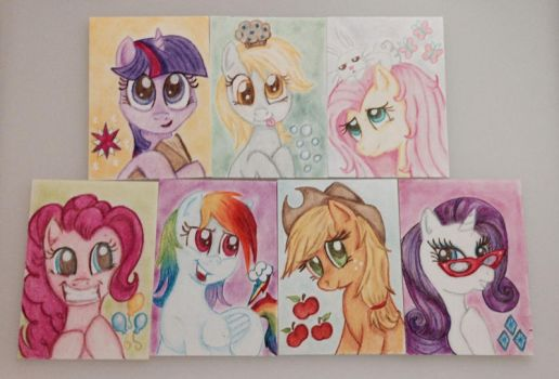My Little Pony G4 ATC Cards FOR SALE by okiegurl1981