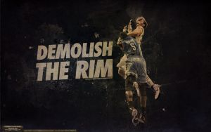 Blake Griffin Posterization Dunk Wallpaper by IshaanMishra