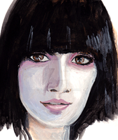 Japanese artist portraits 2 by The-Hige